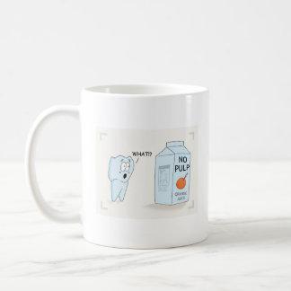 """De """"caneca dental nenhuma polpa"""" caneca de café"""