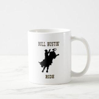 """De """"caneca ocidental do copo de café do rodeio do caneca"""