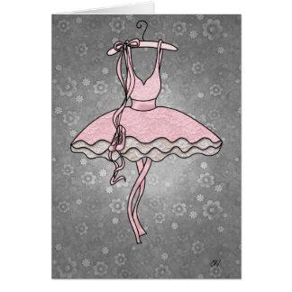 """De """"cartão da bailarina Prima"""" Cartão Comemorativo"""
