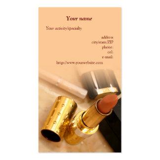 """De """"cartão de visita dos produtos composição"""""""