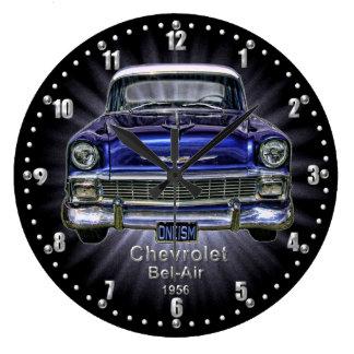 De Chevrolet do Bel Air de quartzo pulso de dispar Relógios De Paredes