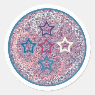 de cinco estrelas - um estilo diferente adesivo