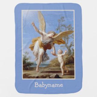 """De """"cobertura do bebê do anjo The Guardian"""" Cobertor De Bebe"""