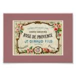 De cor-de-rosa Provance um perfume francês Fotografias