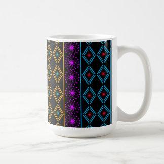 De cores escrutinado caneca de café