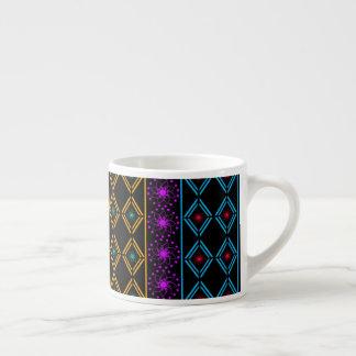 De cores escrutinado xícara de espresso