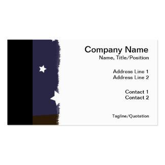 """De """"coruja noite """" cartão de visita"""