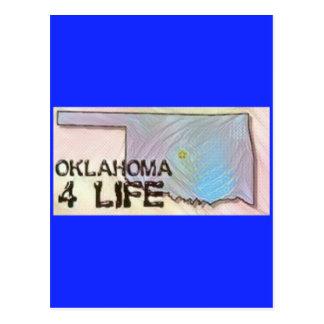 """De """"design do orgulho do mapa do estado da vida cartão postal"""