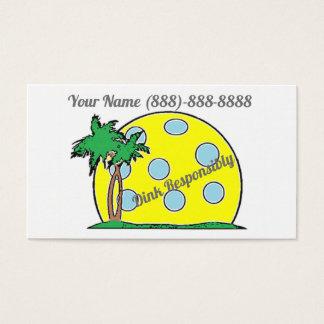 De Dink cartões de visitas responsàvel