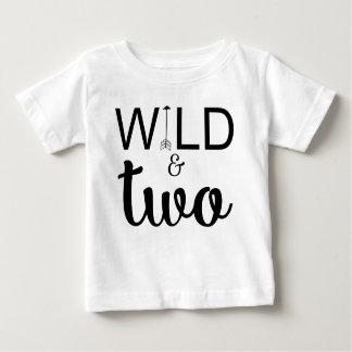 De duas setas do segundo aniversário camisa