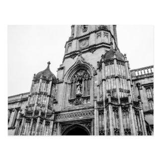 """De """"faculdade Christchurch, cartão de Oxford"""""""