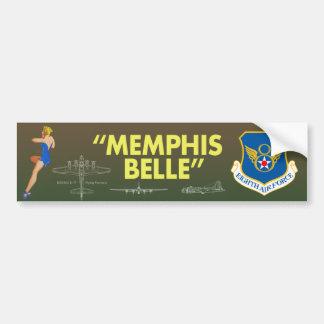 "De ""força aérea do Belle Memphis"" 8a Adesivo Para Carro"
