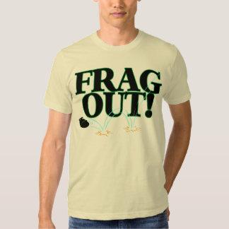 De Frag camiseta para fora