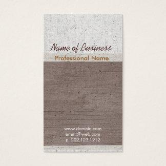 De gama alta ocupacional exclusivo envelhecido cartão de visitas