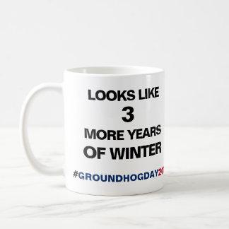 De Groundhog do dia caneca 2018 de café