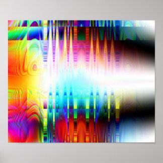 """De """"impressão do poster da arte abstracta do prato pôster"""