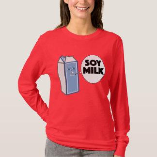 """De """"leite soja"""" engraçado para estudantes & camiseta"""