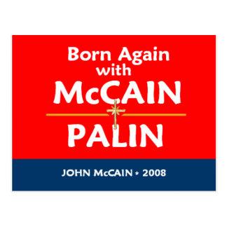 De McCain Palin do NASCER cartão OUTRA VEZ
