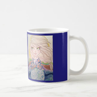 Dê-me a caneca de café interna da arte da fantasia
