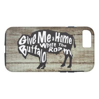 Dê-me uma casa onde o búfalo vagueie capas de