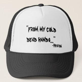 De meu boné frio das mãos inoperantes