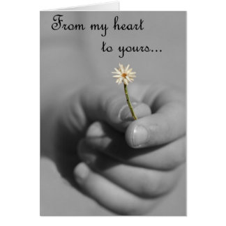 De meu coração a seu cartão