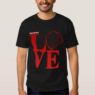 De mini com amor, somente um mini proprietário tshirt
