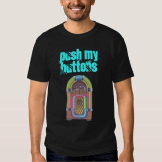 """De néon retro do jukebox """"impulso t-shirt dos meus"""