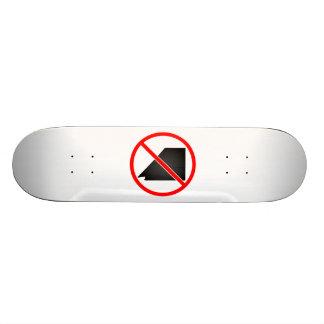 De Nevada da cruz símbolo para fora Skate Personalizado
