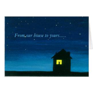 De nossa casa a seu cartão de felz pascoa