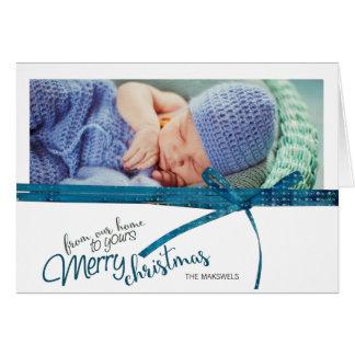 De nossa casa a seu cartão do Feliz Natal