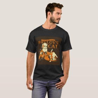 """De """"o gato Pavlov"""" pouca camiseta conhecida da"""