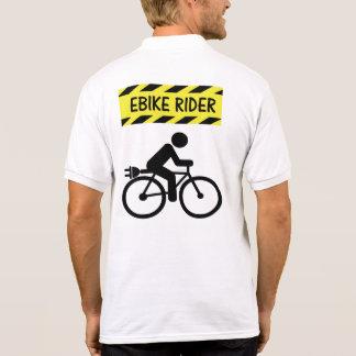 """De """"o polo do ciclismo do cavaleiro Ebike"""" cobre"""