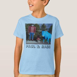 """De """"O t-shirt do menino Paul & de borracho"""" Camiseta"""