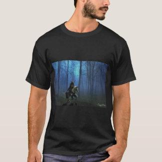 """De """"O t-shirt dos homens do passeio MidKnight"""" Camiseta"""