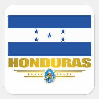 """De """"orgulho Honduras """" Adesivo Quadrado"""