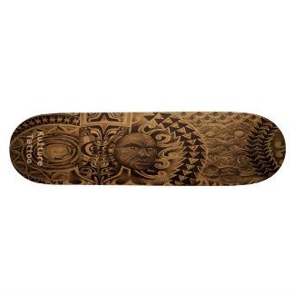 """De """"plataforma Misturada-Polyesian do tatuagem Kul Shape De Skate 18,4cm"""
