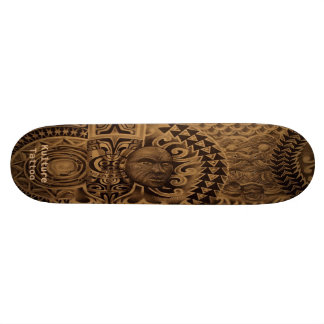 De plataforma Misturada-Polyesian do tatuagem Kul Skates Personalizados