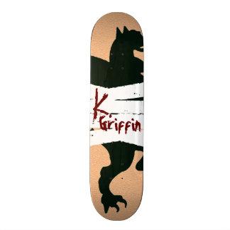 """De """"plataforma sangrada tatuagem K. Grifo"""" Killoso Skates"""