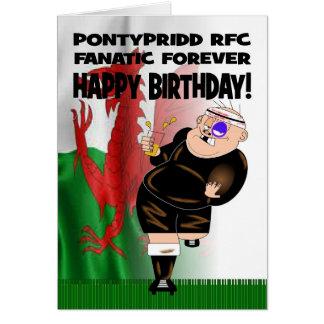 De Pontypridd do RFC do fanático cartão de