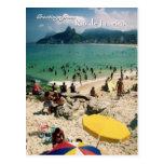 """De """"praia Arpoador, cartão de Rio de Janeiro"""" Cartao Postal"""