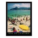 """De """"praia Arpoador, cartão de Rio de Janeiro"""" Cartão Postal"""