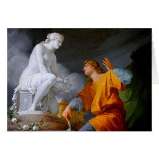 ~ de Pygmalión (mitologia grega - Galathea) Cartão