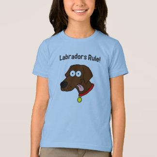 """De """"regra Labradors!"""" Camisa de Labrador T do"""