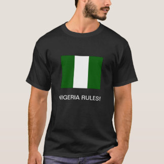 """DE """"REGRAS NIGÉRIA! 'T-shirt Camiseta"""