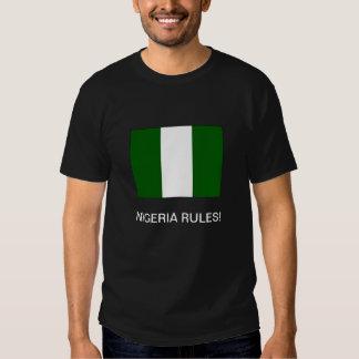 """DE """"REGRAS NIGÉRIA! 'T-shirt T-shirts"""