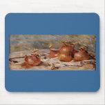 De Renoir a vida ainda com cebolas (1881) Mousepad