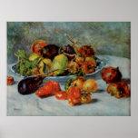 De Renoir a vida ainda com fruta mediterrânea, 191 Posters