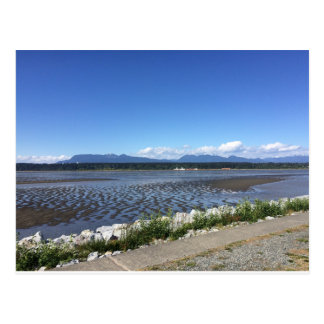 De RICHMOND montanha BC e cartão do oceano