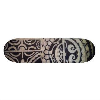 """De """"skate do esboço Marquesas"""" por Samuel Shaw Shape De Skate 18,7cm"""